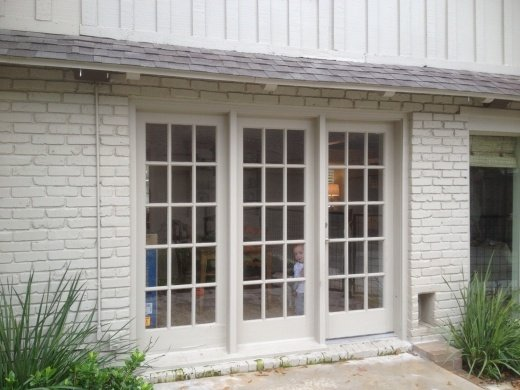 French Door Replacement Houston, TX. After Before